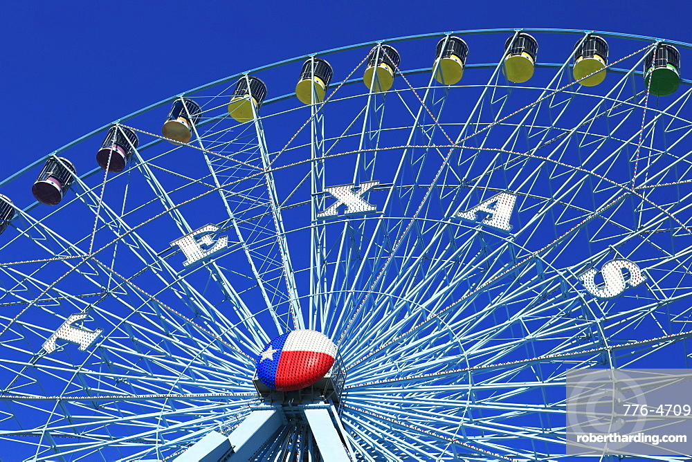 Ferris Wheel, Fair Park, Dallas, Texas, United States of America, North America