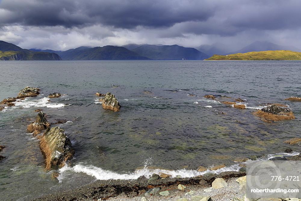 Unalaska Bay, Dutch Harbor, Aleutian Islands, Alaska, United States of America, North America
