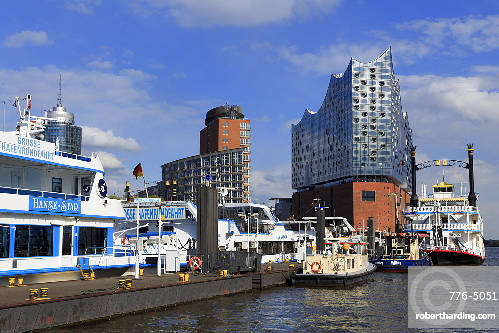 Elbphilharmonie Building, Hamburg, Germany, Europe