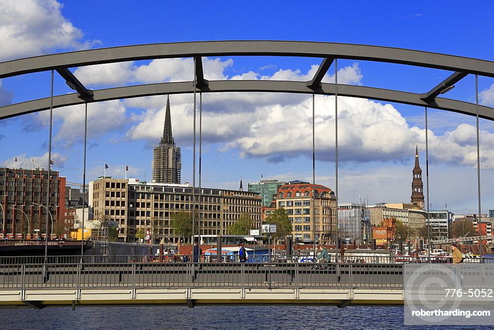 Old Town, Hamburg, Germany, Europe