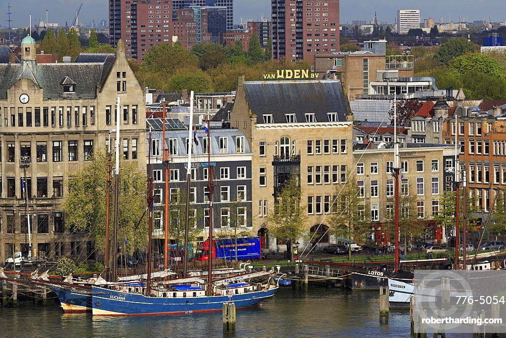 Veerhaven District, Rotterdam, South Holland, Netherlands, Europe