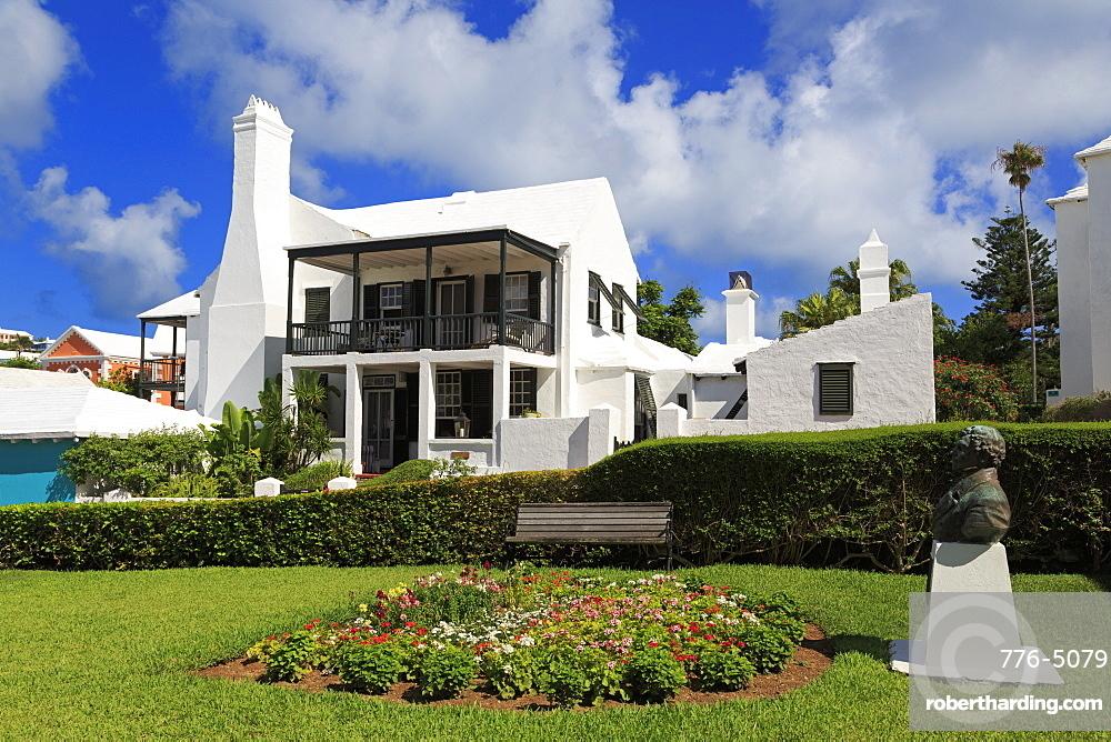Historic Bridge House, Town of St. George, St. George's Parish, Bermuda, Central America
