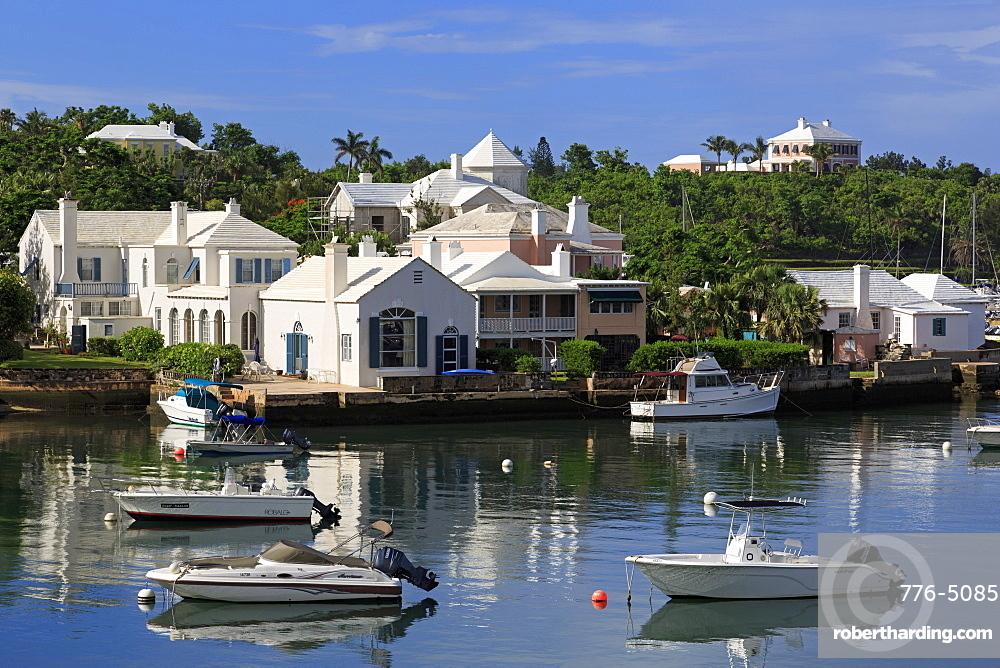 Architecture in Paget Parish, Bermuda, Atlantic, Central America