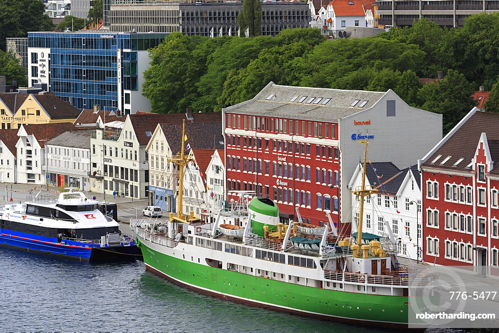Historic Ship Sandnes, Stavanger City, Rogaland County, Norway, Scandinavia, Europe