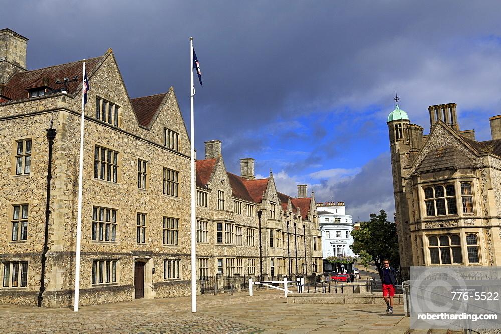 Castle Hill, Winchester, Hampshire, England, United Kingdom, Europe