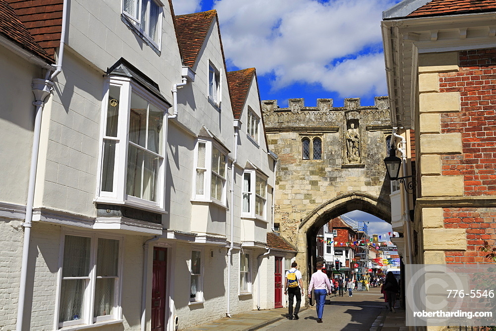 The North Gate, Salisbury, Wiltshire, England, United Kingdom, Europe