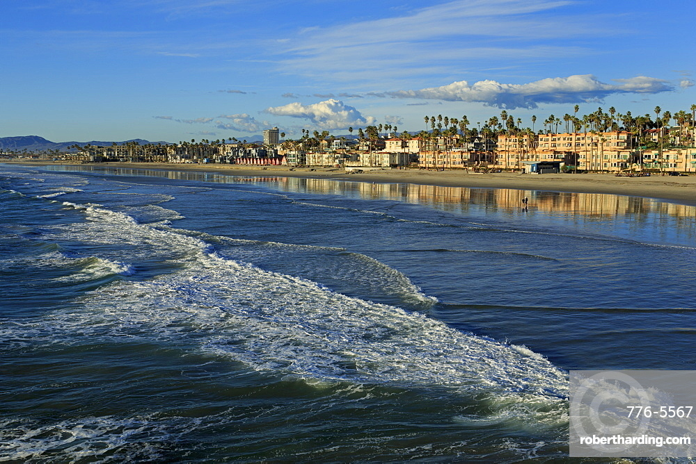 Oceanside Beach, San Diego County, California, United States of America