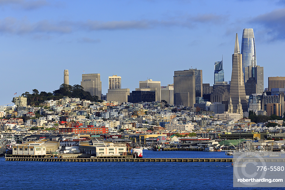Skyline, San Francisco, California, United States of America, North America