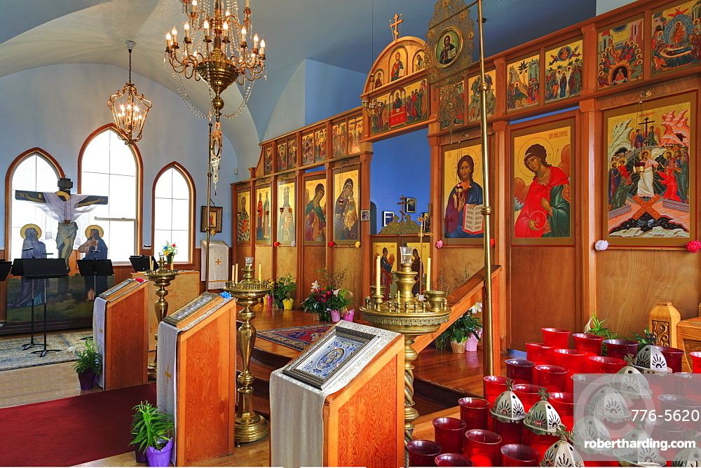 Russian Orthodox Church, Kodiak, Alaska, United States of America, North America