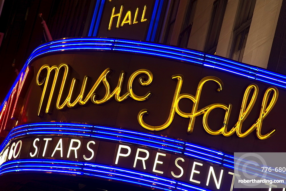 Radio City Music Hall, Theater District, Midtown Manhattan, New York City, New York, United States of America, North America