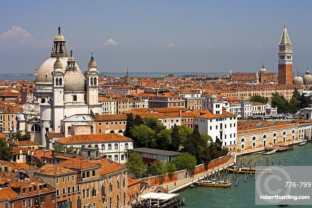 Santa Maria della Salute church, Dorsoduro district, Venice, UNESCO World Heritage Site, Veneto, Italy, Europe