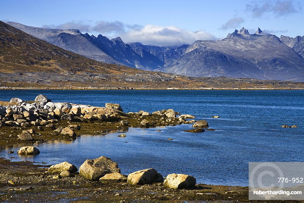 Quassik Mountains, Nanortalik, Island of Qoornoq, Province of Kitaa, Southern Greenland, Kingdom of Denmark, Polar Regions