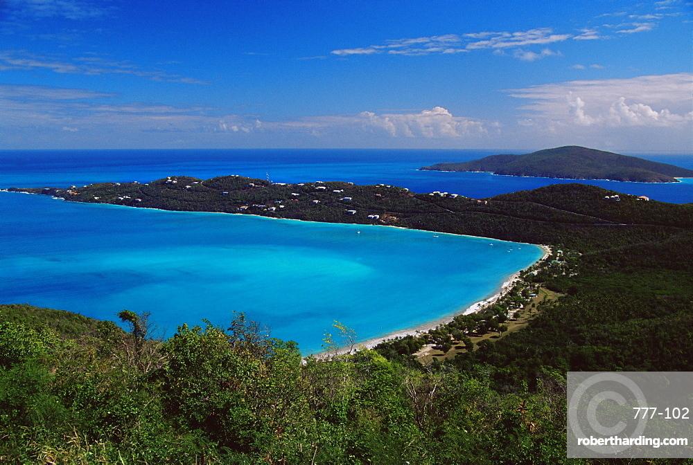 Magens Bay, St. Thomas, U.S. Virgin Islands, West Indies, Caribbean, Central America