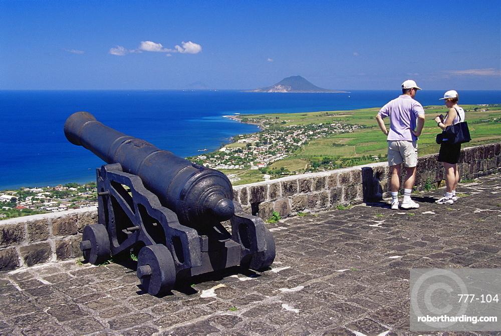 Citadel, Brimstone Hill Fortress National Park, St. Kitts, Leeward Islands, West Indies, Caribbean, Central America
