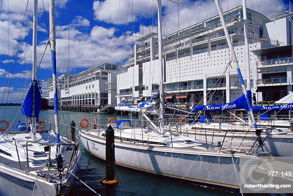Princes Wharf, Auckland, North Island, New Zealand, Pacific