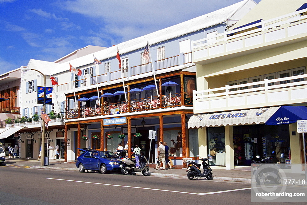 Front Street, Hamilton, Bermuda, Central America