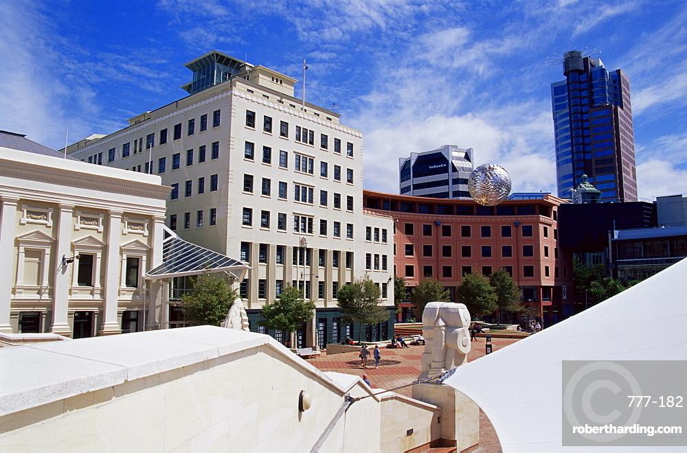 Civic Square, Wellington, North Island, New Zealand, Pacific