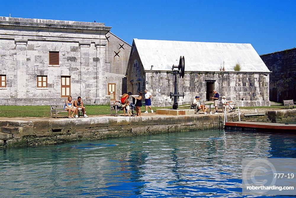 Dolphin Quest, Maritime Museum, Royal Naval Dockyard, Sandys Parish, Bermuda, Central America