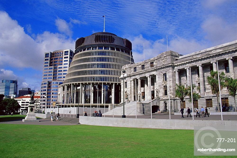 Parliament Building, Wellington, North Island, New Zealand, Pacific