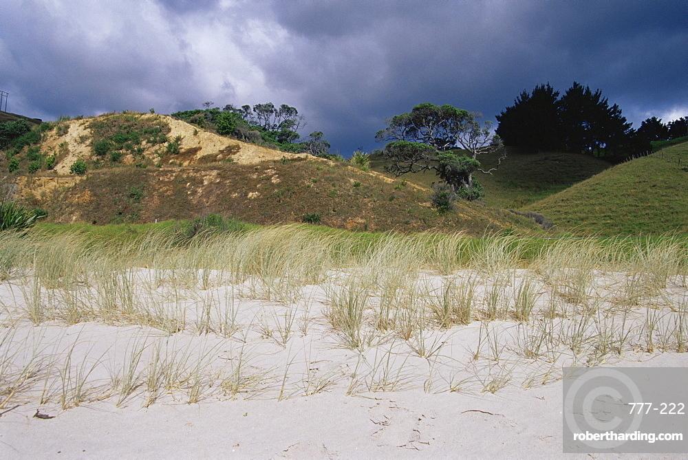 Rings Beach, Kuaotunu Bay, Coromandel Peninsula, North Island, New Zealand, Pacific