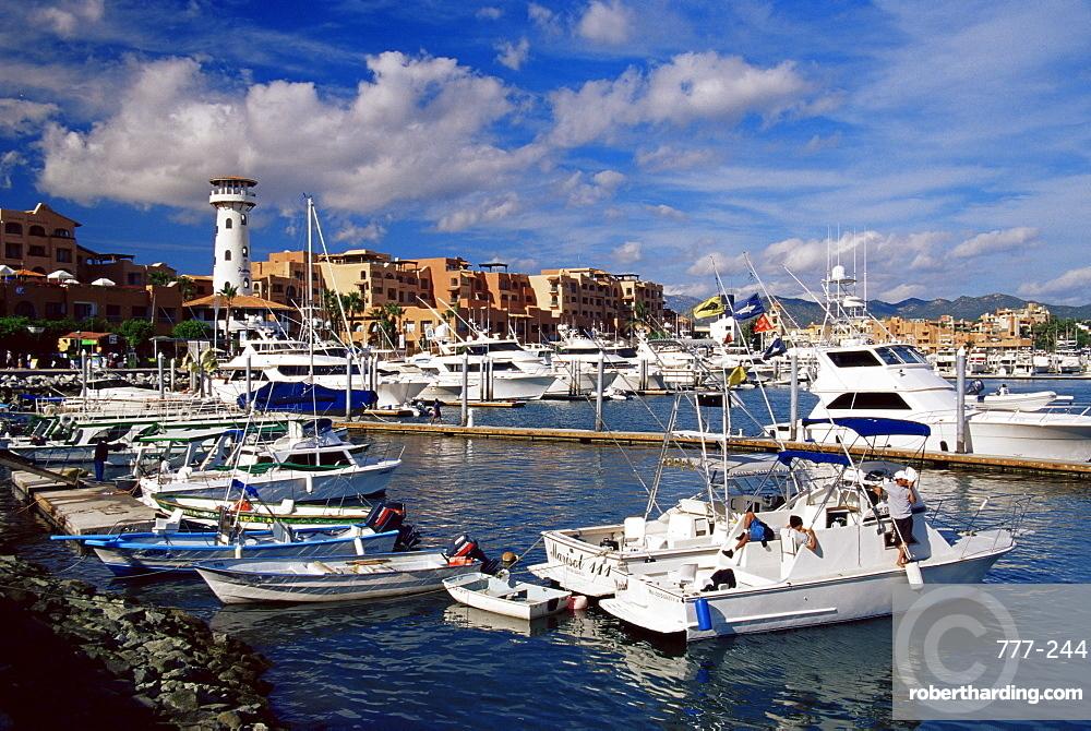 Boat marina, Cabo San Lucas, Baja California Sur, Mexico, North America