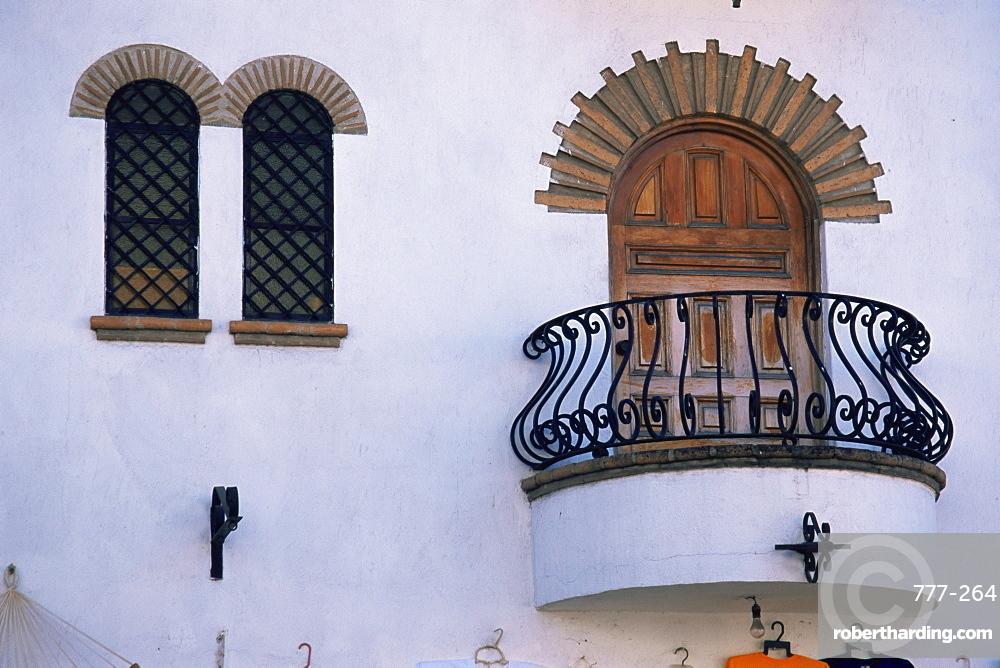 Architectural detail, Puerto Vallarta, Jalisco State, Mexico, North America