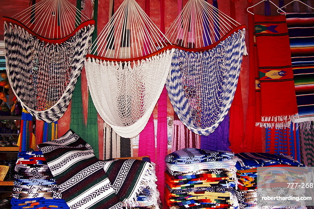 Local crafts, flea market, Zihuatanejo, Guerrero State, Mexico, North America