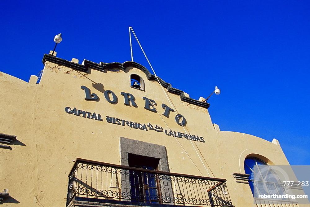 Historical capital of California, Loreto Town, Baja California Sur, Mexico, North America