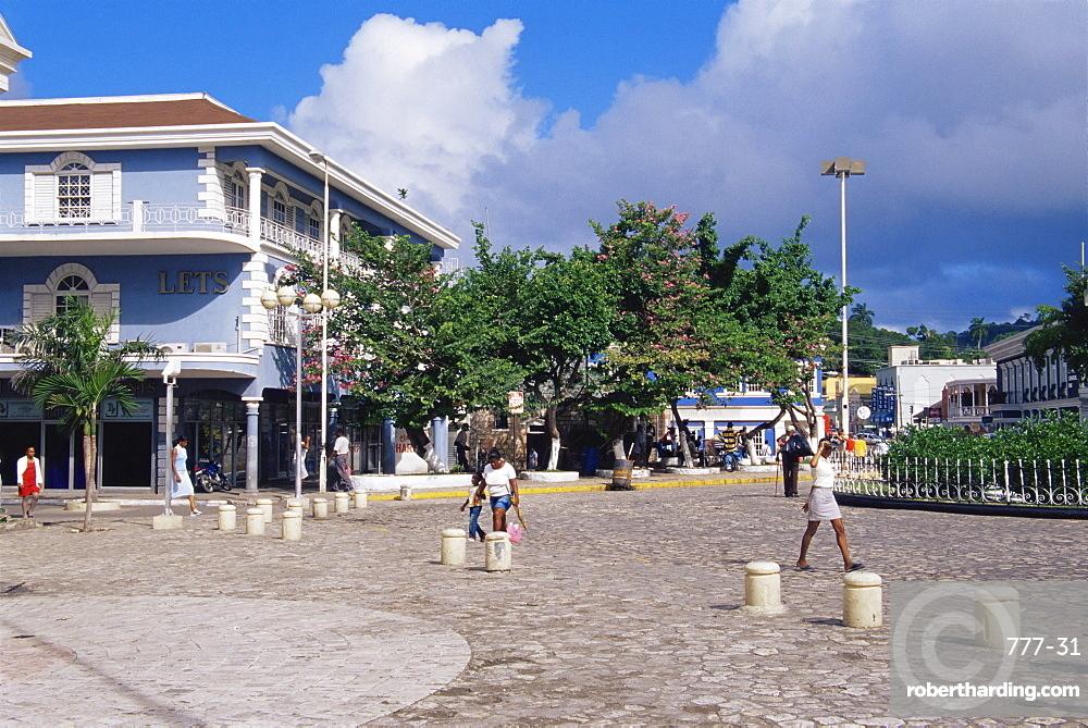 Sam Sharpe Square, Montego Bay, Jamaica, West Indies, Caribbean, Central America
