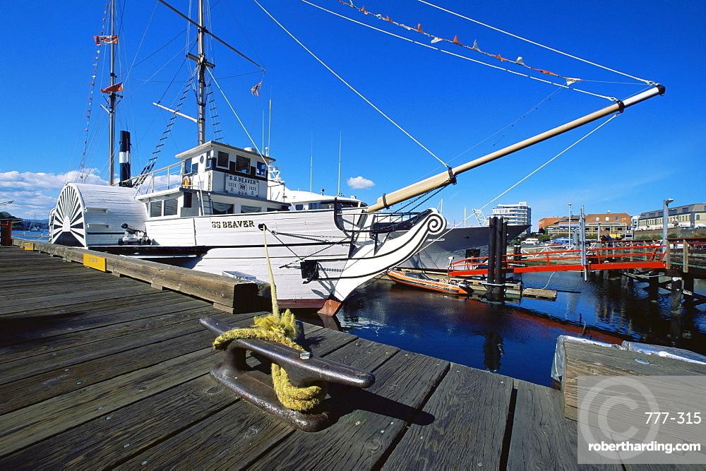 S.S. Beaver, Victoria Harbour, British Columbia, Canada, North America