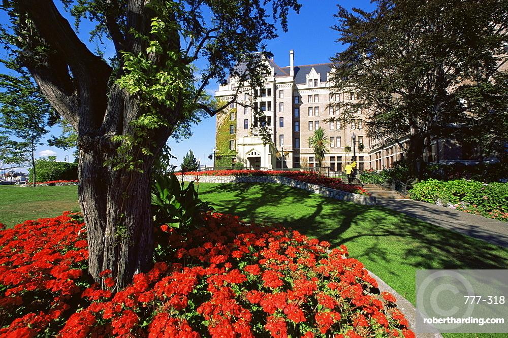 Empress Hotel, Victoria, British Columbia, Canada, North America