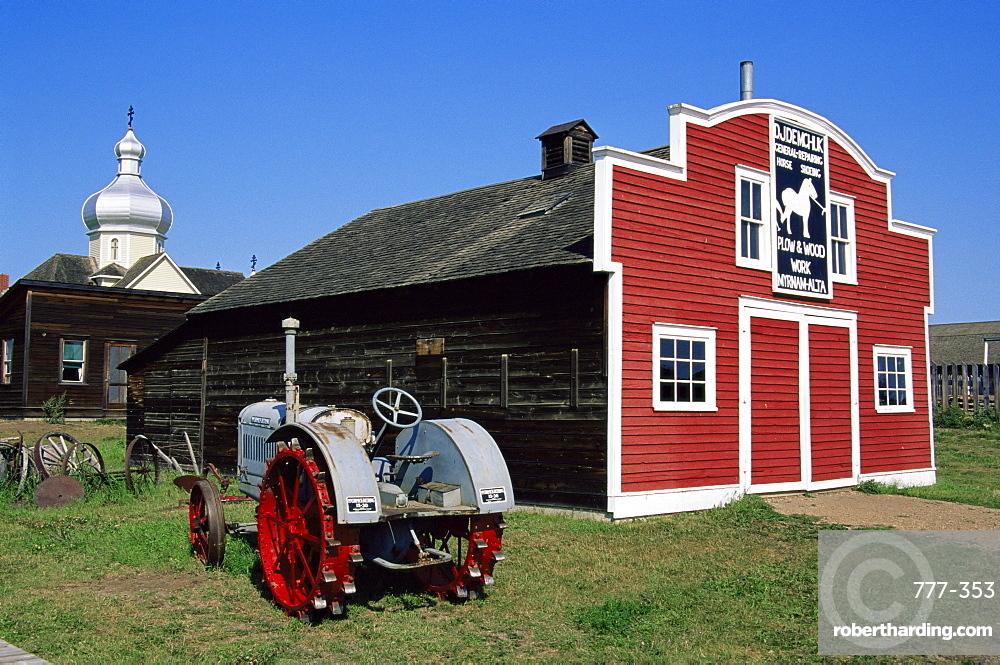 Ukrainian Heritage Village, Greater Edmonton area, Alberta, Canada, North America