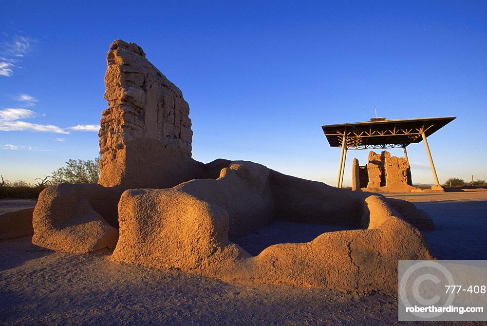 Casa Grande Ruins National Monument, Coolidge, Arizona, United States of America, North America
