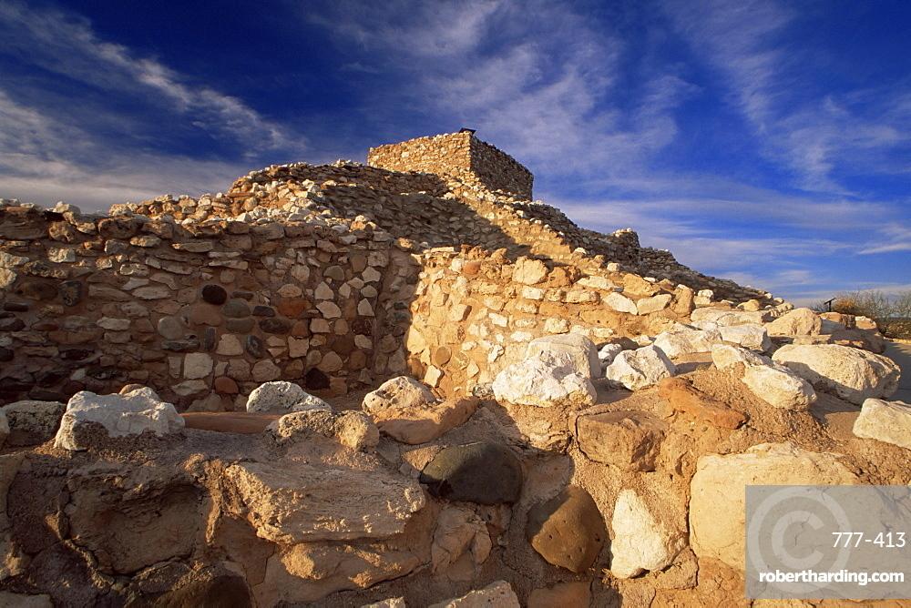 Tuzigoot Indian Ruins National Monument, Arizona, United States of America, North America