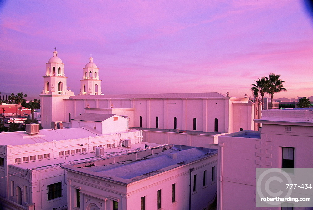 St. Augustine cathedral, Downtown, Tucson, Arizona, United States of America, North America