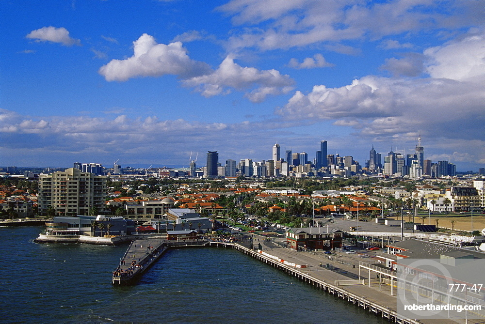 Historic Station Pier, Port Melbourne, Victoria, Australia, Pacific