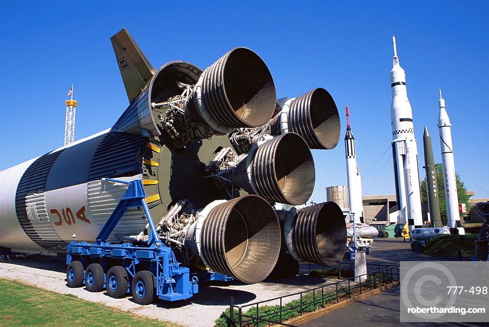 Rocket Park, U.S. Space & Rocket Center, Huntsville, Alabama, United States of America, North America