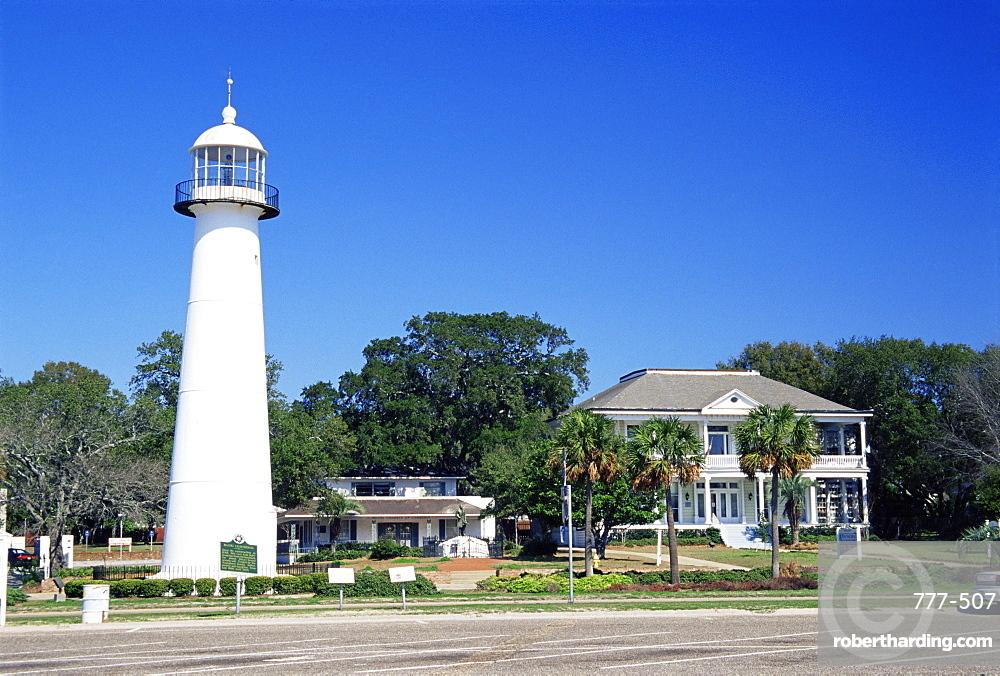 Biloxi Lighthouse, Mississippi, United States of America, North America