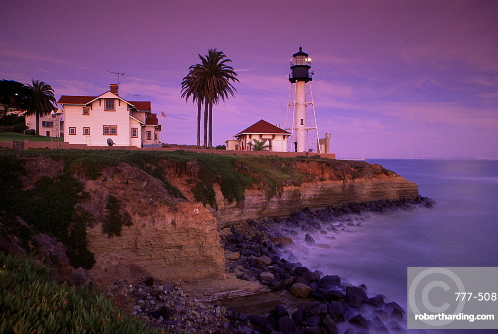 Point Loma lighthouse, San Diego, California, United States of America, North America
