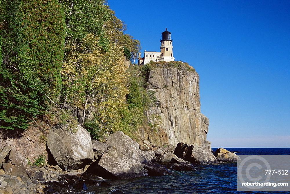 Split Rock Lighthouse, Lake Superior, Minnesota, United States of America, North America