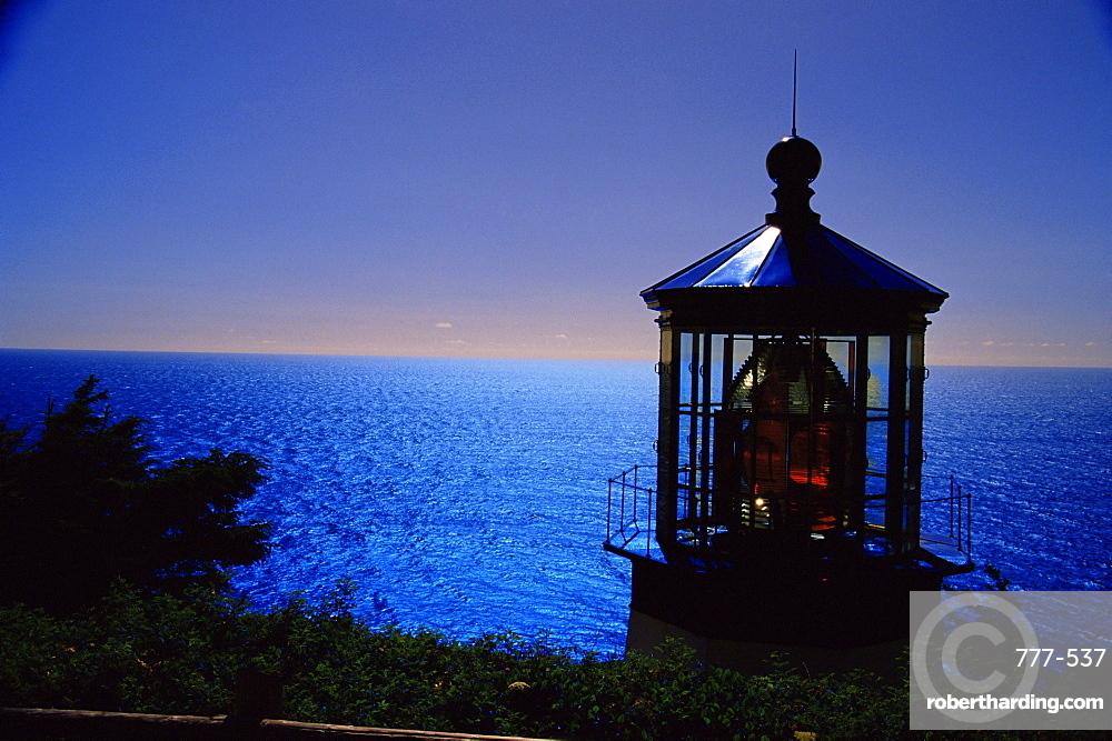 Cape Meares lighthouse, Tillamook, Oregon, United States of America, North America