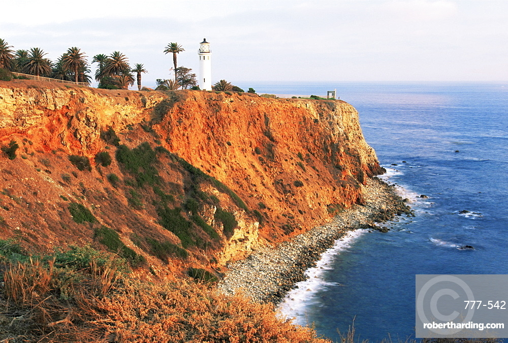 Point Vincente lighthouse, Palos Verdes, Los Angeles, California, United States of America, North America