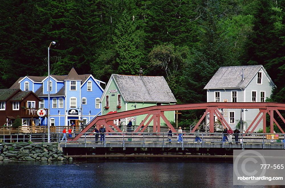 Creek Street, Ketchikan, Alaska, United States of America, North America