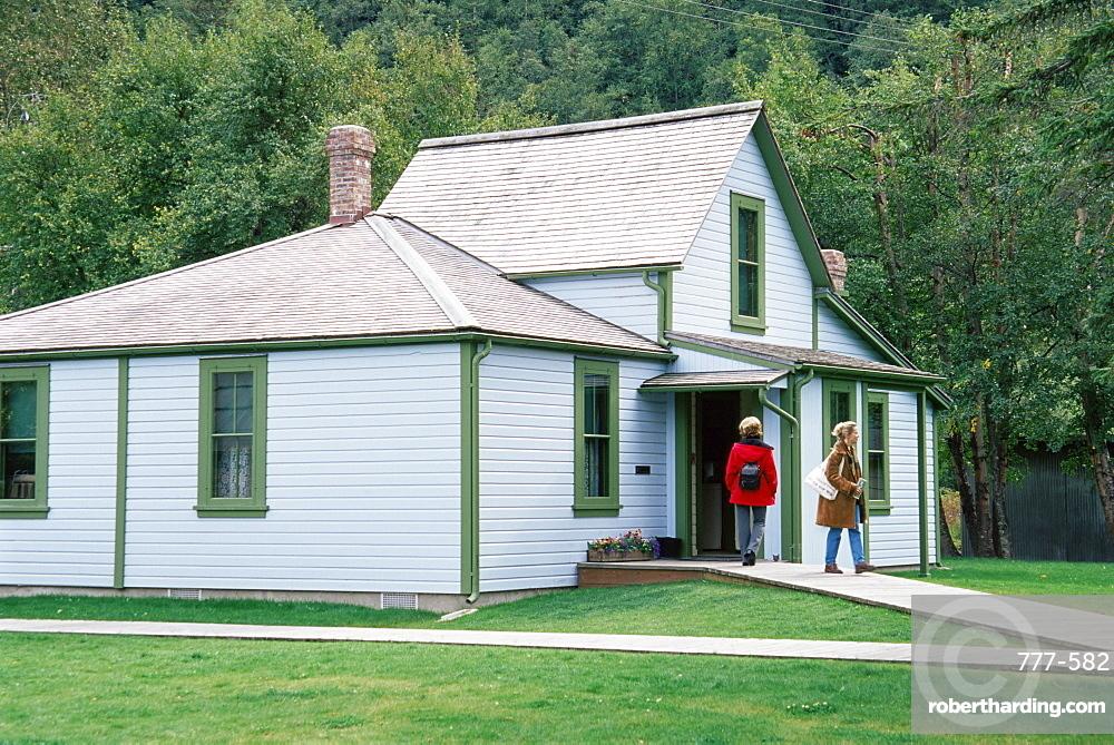Historical Moore House, Skagway, Alaska, United States of America, North America