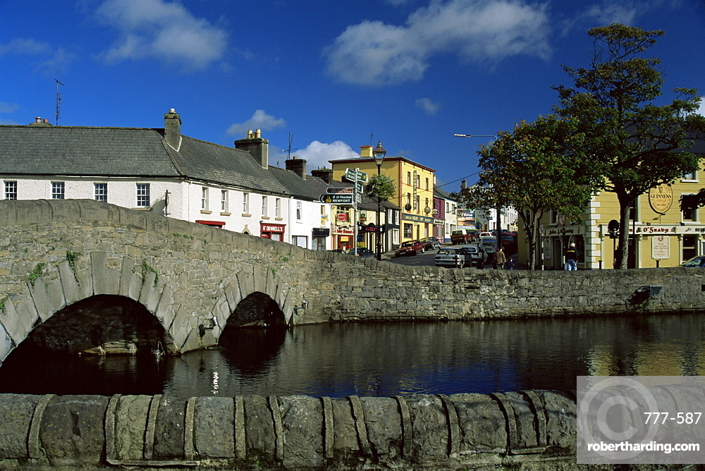 North Mall, Westport Town, Co. Mayo, Connacht, Republic of Ireland, Europe