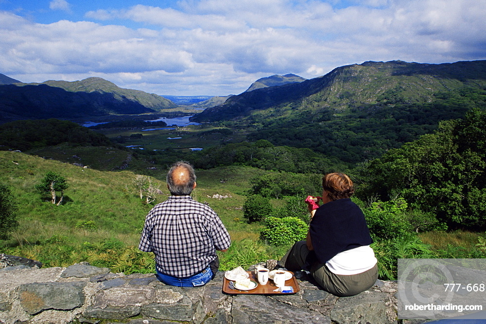 Lady's View, Killarney National Park, County Kerry, Munster, Republic of Ireland, Europe