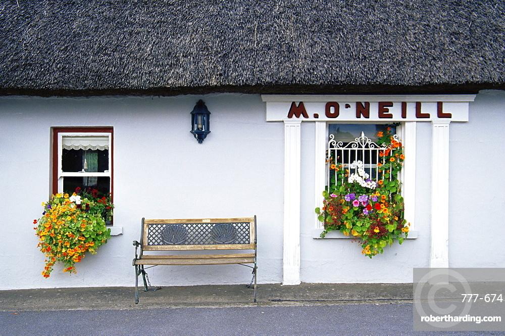 M. O'Neill's pub, Boher village, County Limerick, Munster, Republic of Ireland, Europe