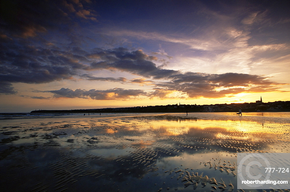 Tramore Beach, County Waterford, Munster, Republic of Ireland, Europe