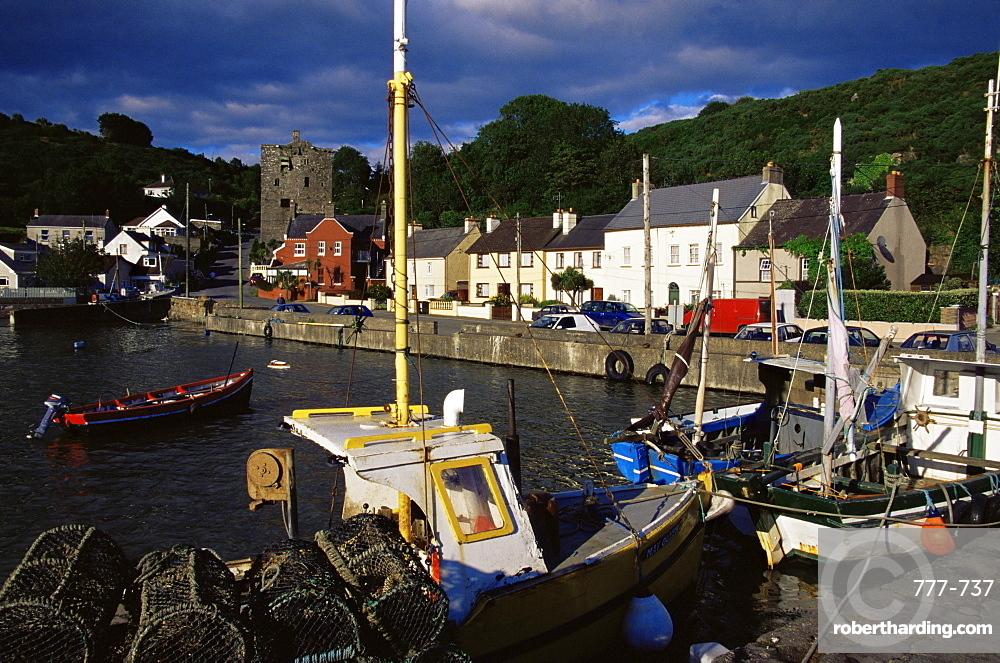 Ballyhack village, County Wexford, Leinster, Republic of Ireland, Europe