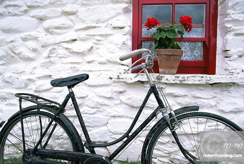 Loop Head House, Bunratty Folk Park, County Clare, Munster, Republic of Ireland, Europe